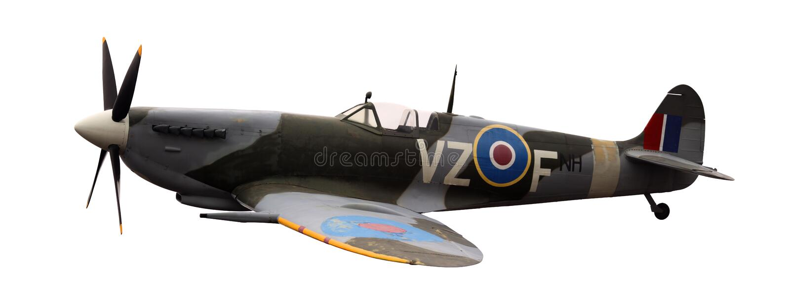 spitfire image stock