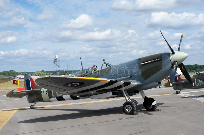 Spitfire Editorial Stock Image