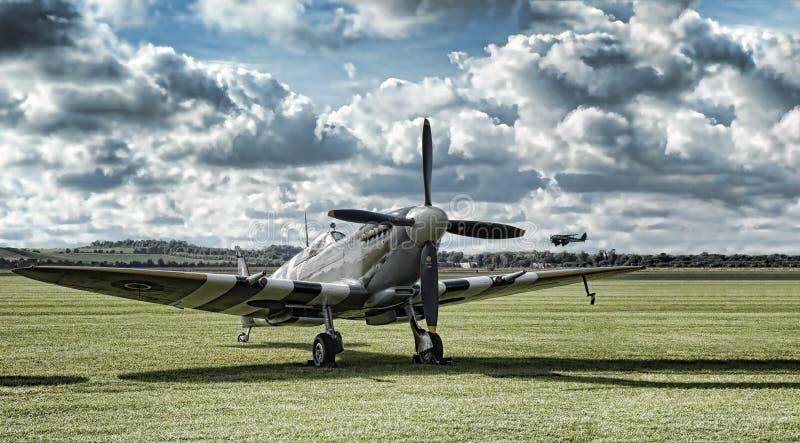 Spitfire photographie stock libre de droits