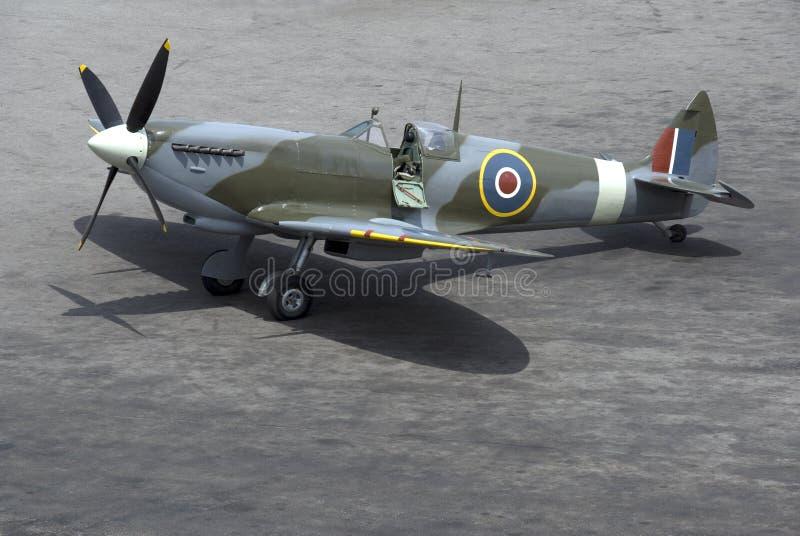 Spitfire fotografie stock libere da diritti