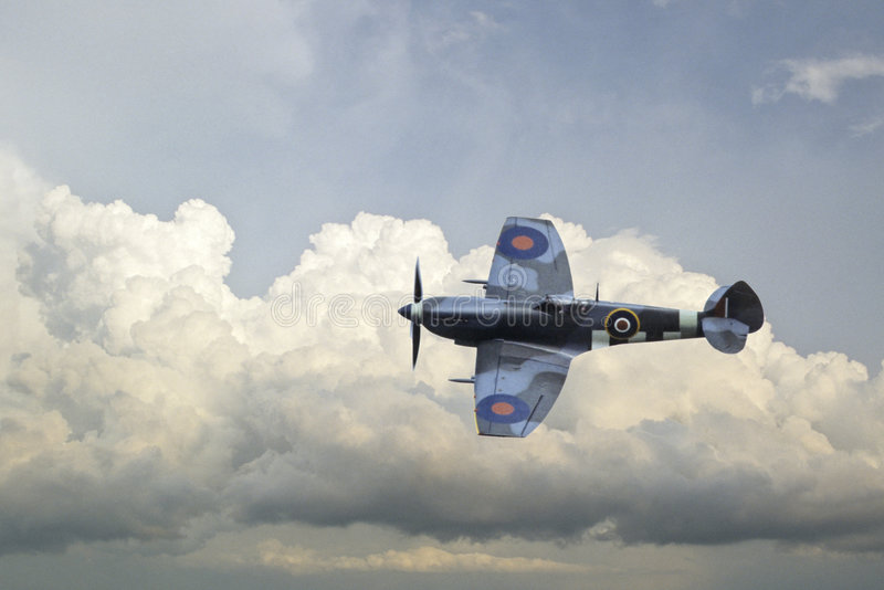 Spitfire photographie stock