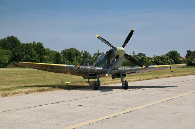 spitfire stockbild