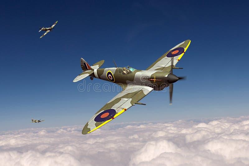 Spitfire de Supermarine imágenes de archivo libres de regalías