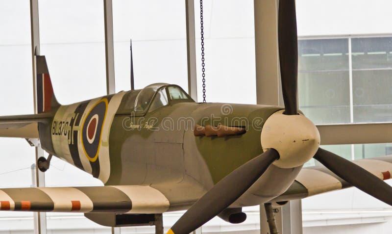 Spitfire-Kampfflugzeug lizenzfreie stockfotografie