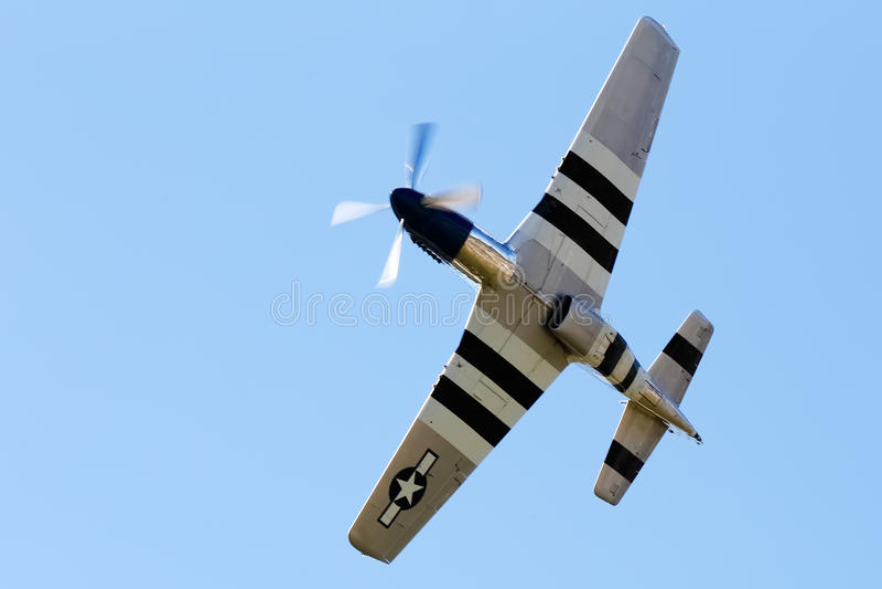 Spitfire Mk XVI. On the airshow, SIAF 2013 - Slovakia - Sliac royalty free stock image