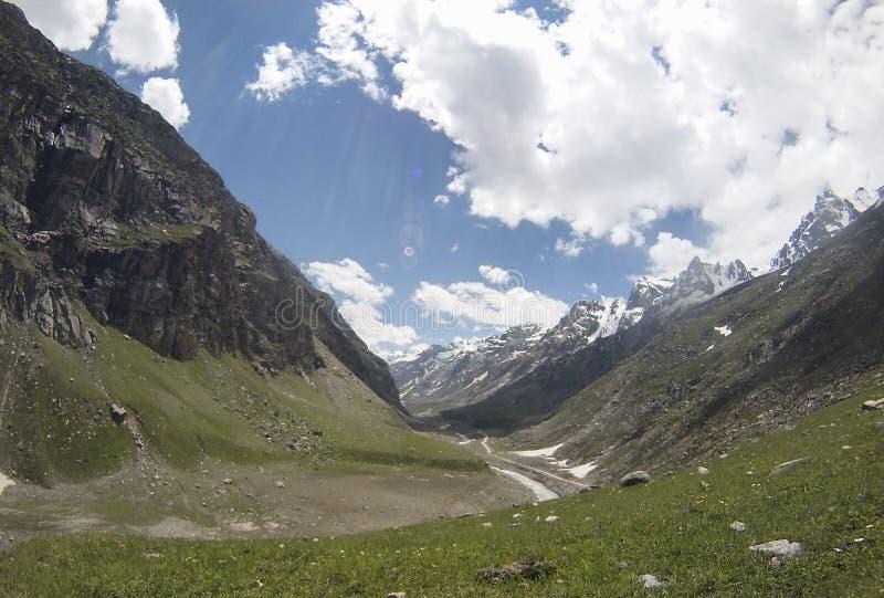 Spiti-Tal, Himalaja lizenzfreies stockbild
