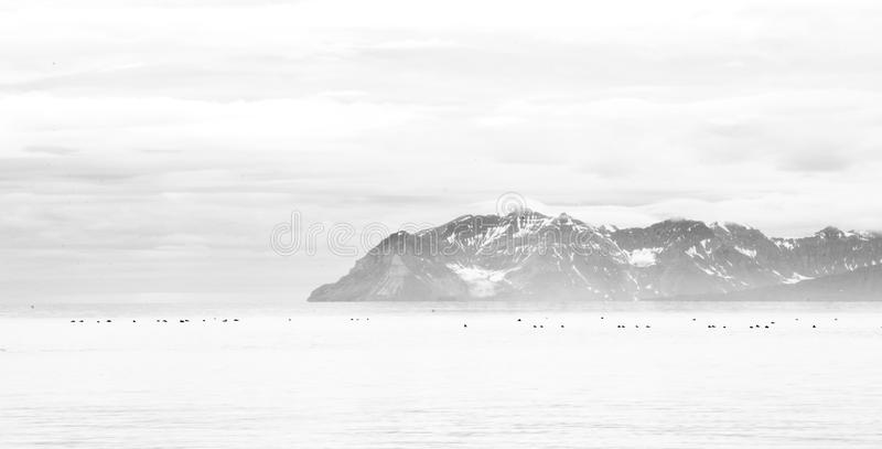 Spitsbergen Svalbard, Norge royaltyfria foton