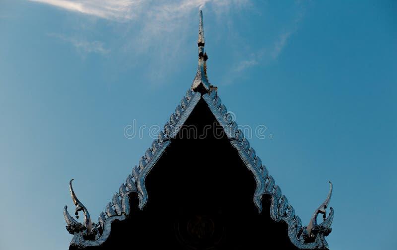 Spitze des Laksi-Tempels stockbilder