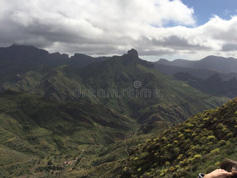 Spitze Gran Canaria Island stockfoto