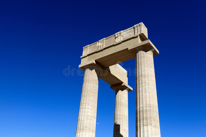 Spitze von Hellenistic stoa