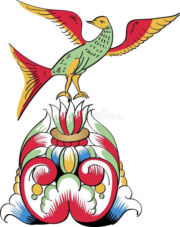 Spitzendetails des orthodoxen dekorativen Musters stock abbildung