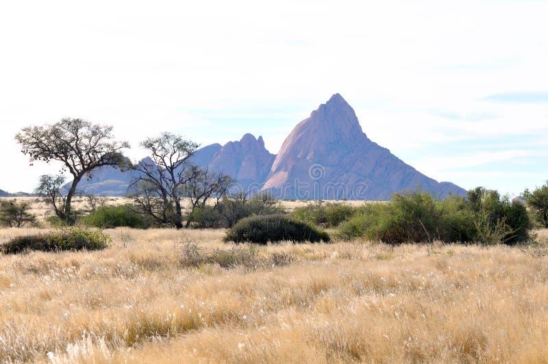 Spitzkoppe,纳米比亚 图库摄影