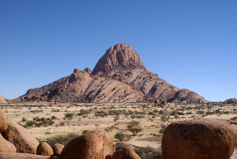 Spitzkoppe en Namibia foto de archivo