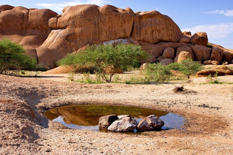 Spitzkoppe, Erongo, Ναμίμπια στοκ φωτογραφία