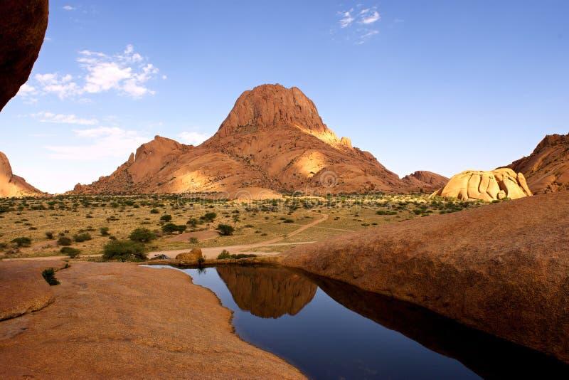 Spitzkoppe, Erongo, Namibie image stock