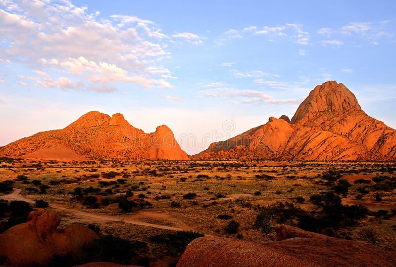 Spitzkoppe, Erongo, Namibie images libres de droits