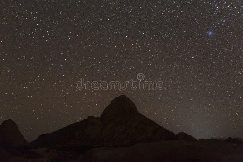 Spitzkoppe nel Namibia fotografie stock libere da diritti