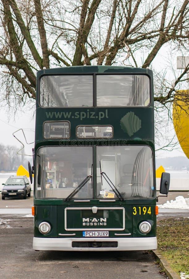 Spiz bussframdel royaltyfri bild