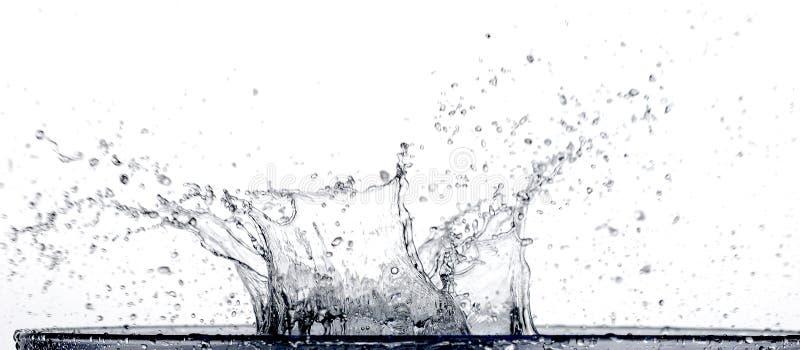 Splash. Closeup image of water splash