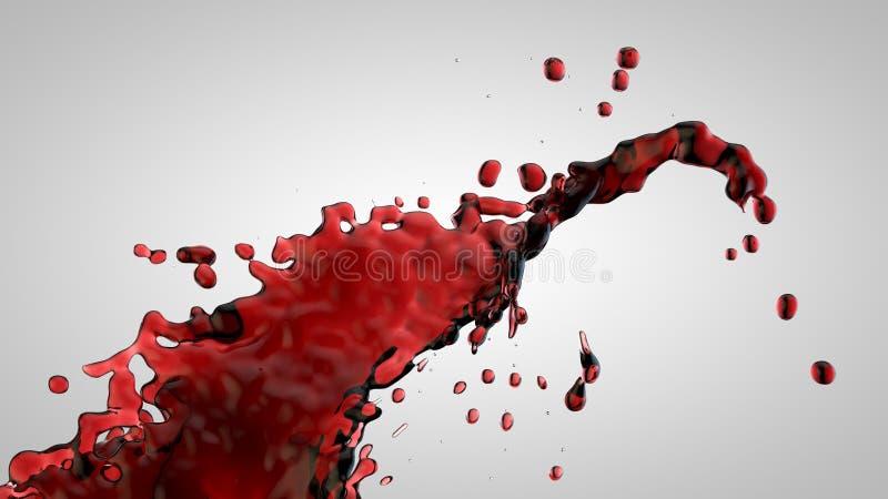 Download Splash stock illustration. Image of splash, painting - 26693177