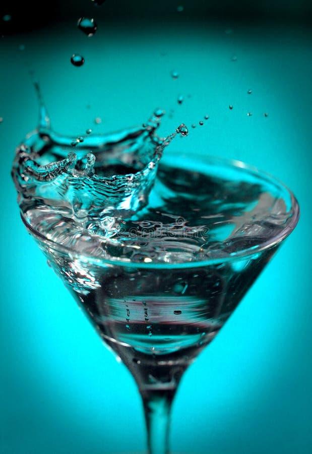 Splash. Water drops