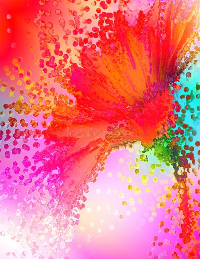 Download Splash stock illustration. Illustration of colorful, flower - 447610