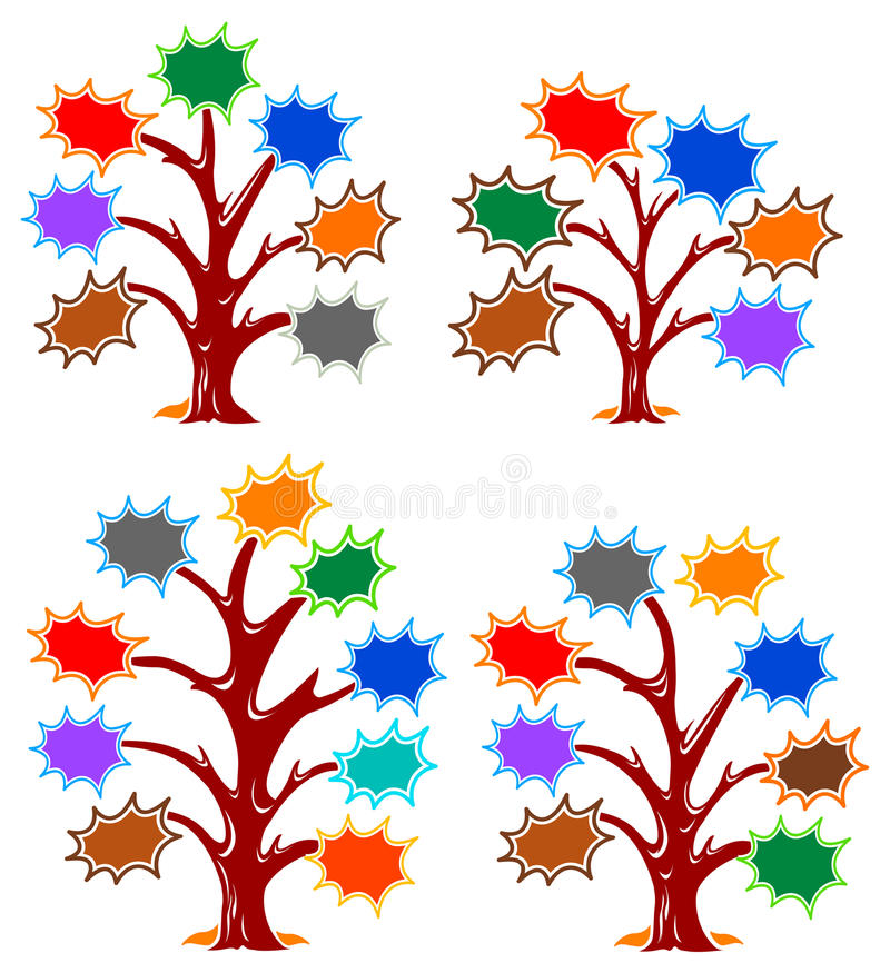 Download Splash Frames Tree Designs Stock Photos - Image: 22421873