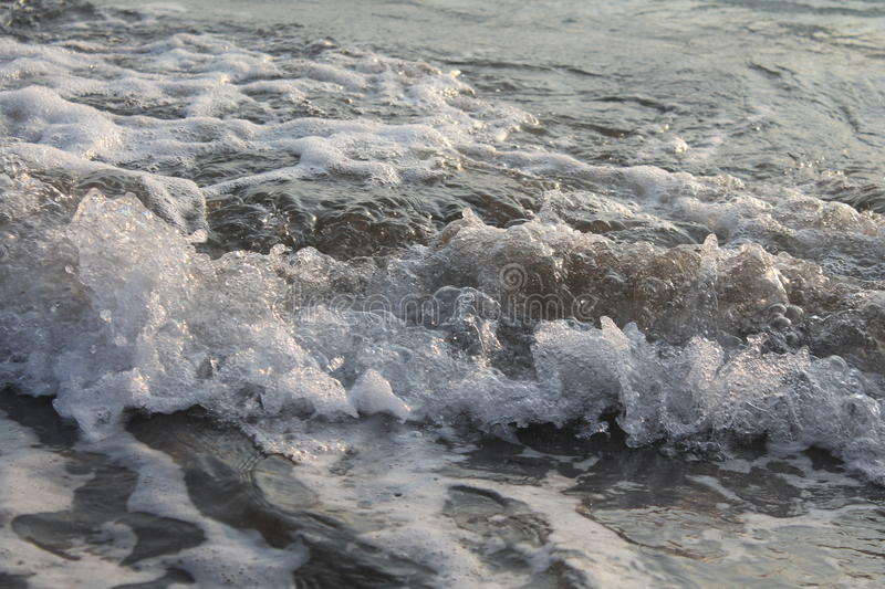 A Splash of the Ocean stock image