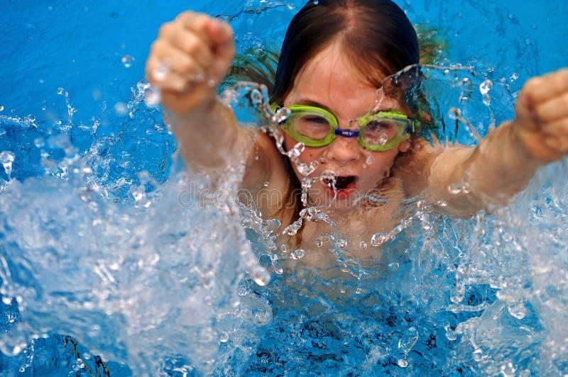 Splash out stock image