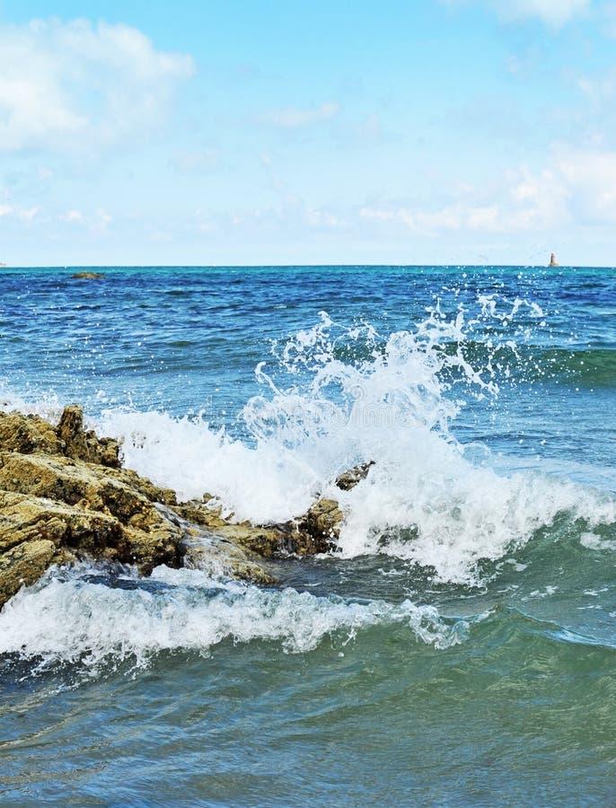 Splash Sea Water Royalty Free Stock Photo