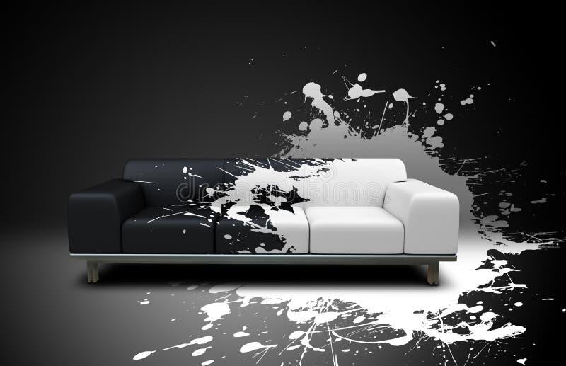 Download Splash sofa stock illustration. Illustration of comfortable - 13556218