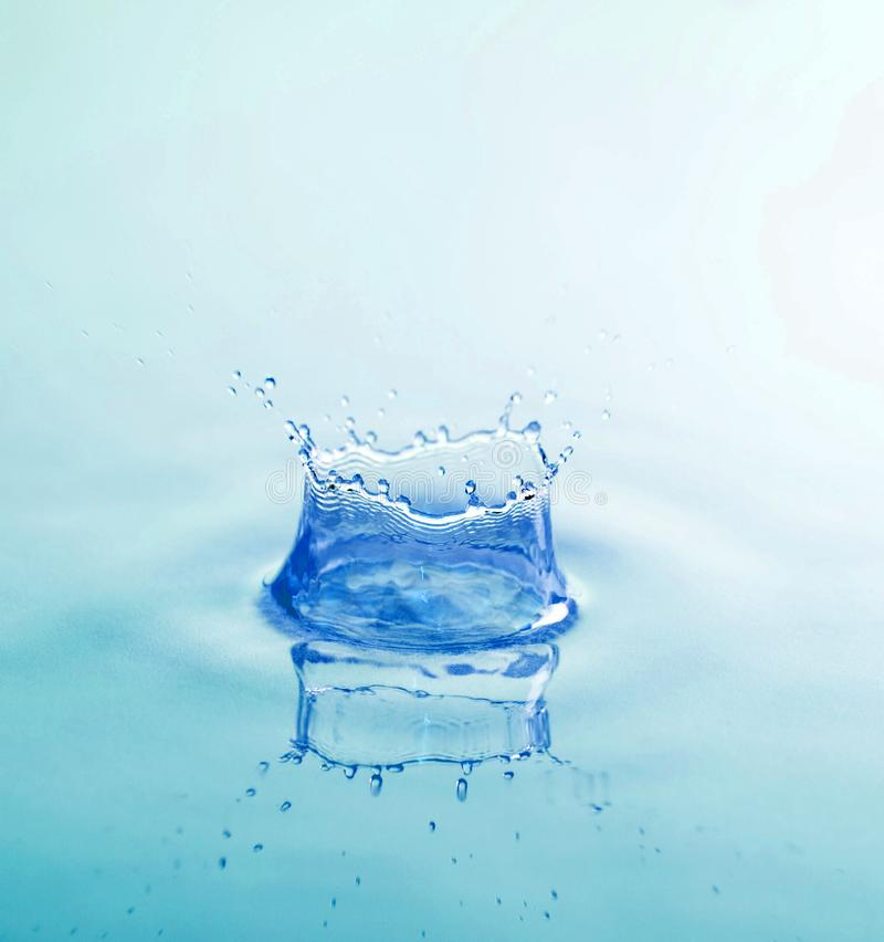 Splash of water stock photography