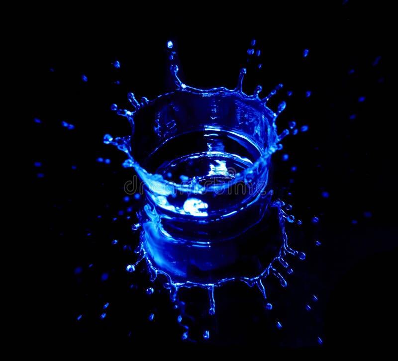 Splash water royalty free stock photos