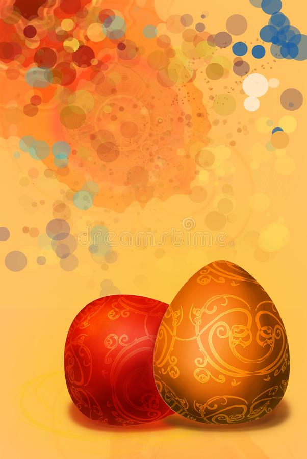 Download Splashed A Paint Background Easter Background Stock Illustration - Illustration: 8351877