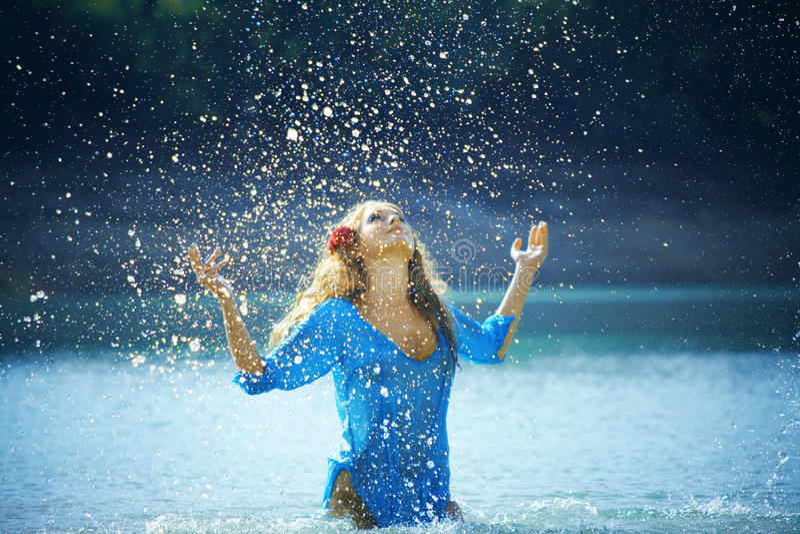 Splashes Stock Photo