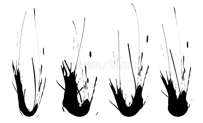 Download Splashes stock vector. Image of nature, fluid, isolated - 1935730