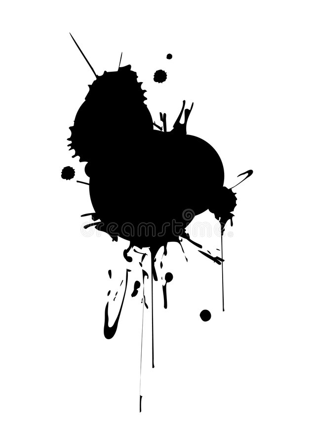 Download Splashes stock vector. Image of drops, dissolve, circle - 4022603