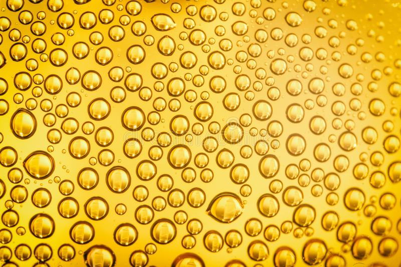Splashes of water droplets. stock photography
