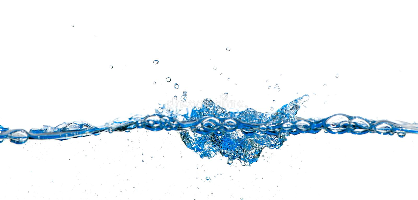 Download Splashes and water waves stock image. Image of blue, cool - 23555159