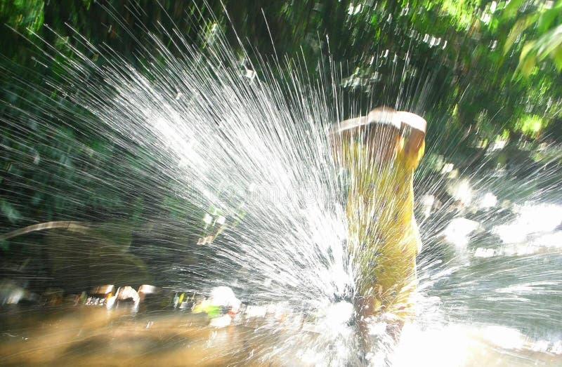 splashing royalty-vrije stock fotografie