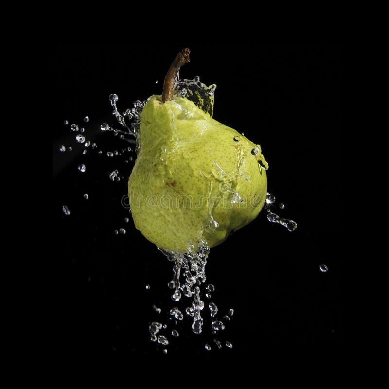 Download Splashing Pear stock photo. Image of drop, drops, splash - 8866008