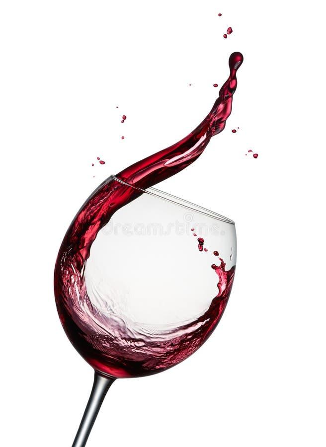 Download Splashing Red Wine Stock Photo - Image: 81073648