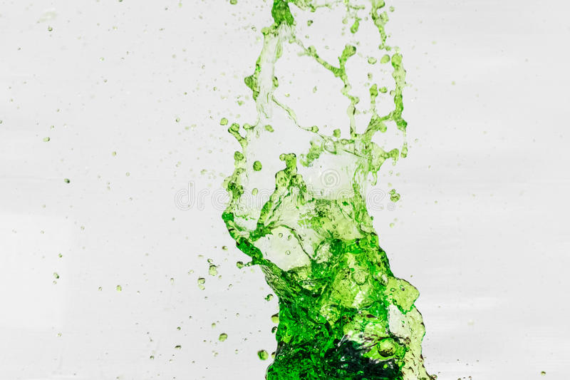 Splashing water royalty free stock photography