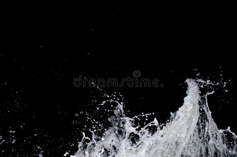 Splashing wave on the Black sea. stock photos