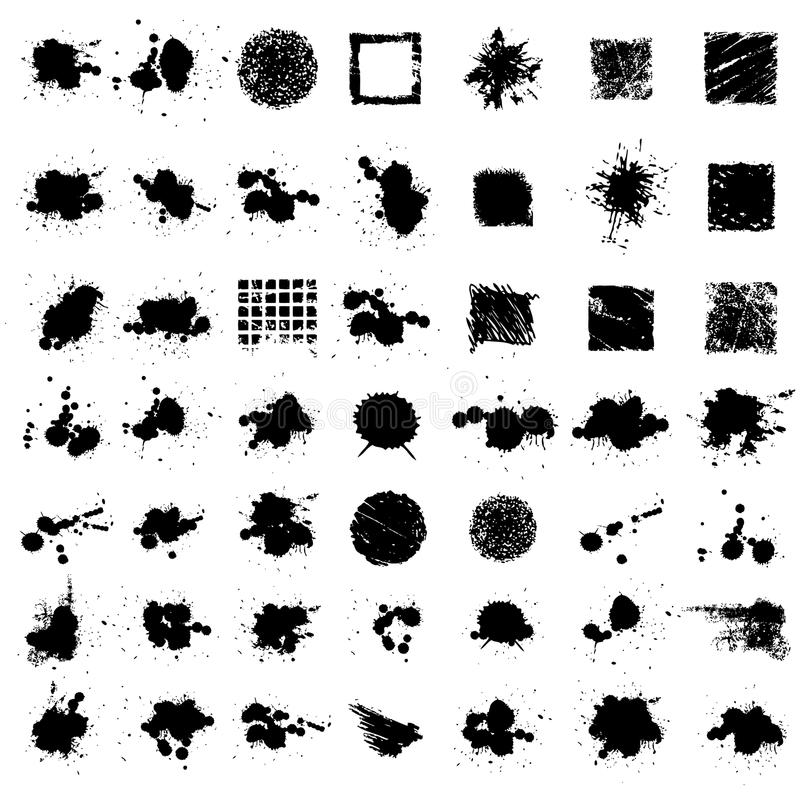 splat чернил grunge бесплатная иллюстрация