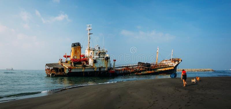 splatająca łódź zdjęcia stock