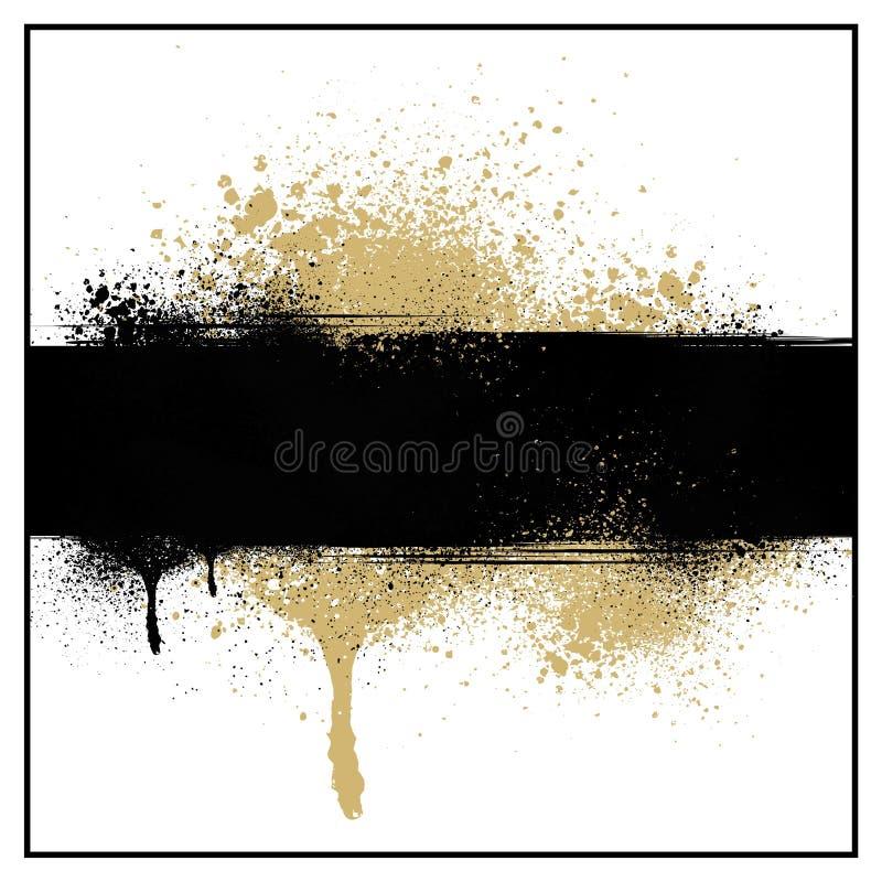 splatter краски grunge предпосылки бесплатная иллюстрация