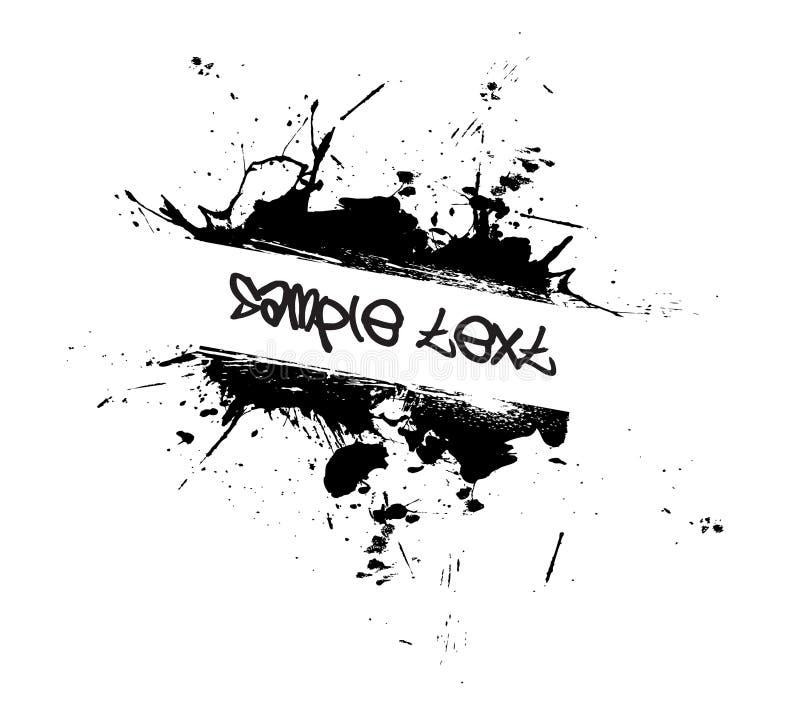 splatter краски grunge бесплатная иллюстрация