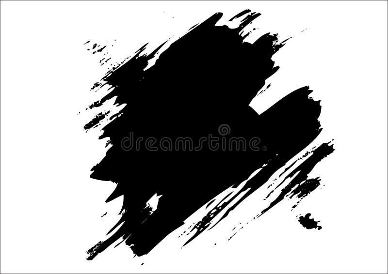 Splatter ilustração stock
