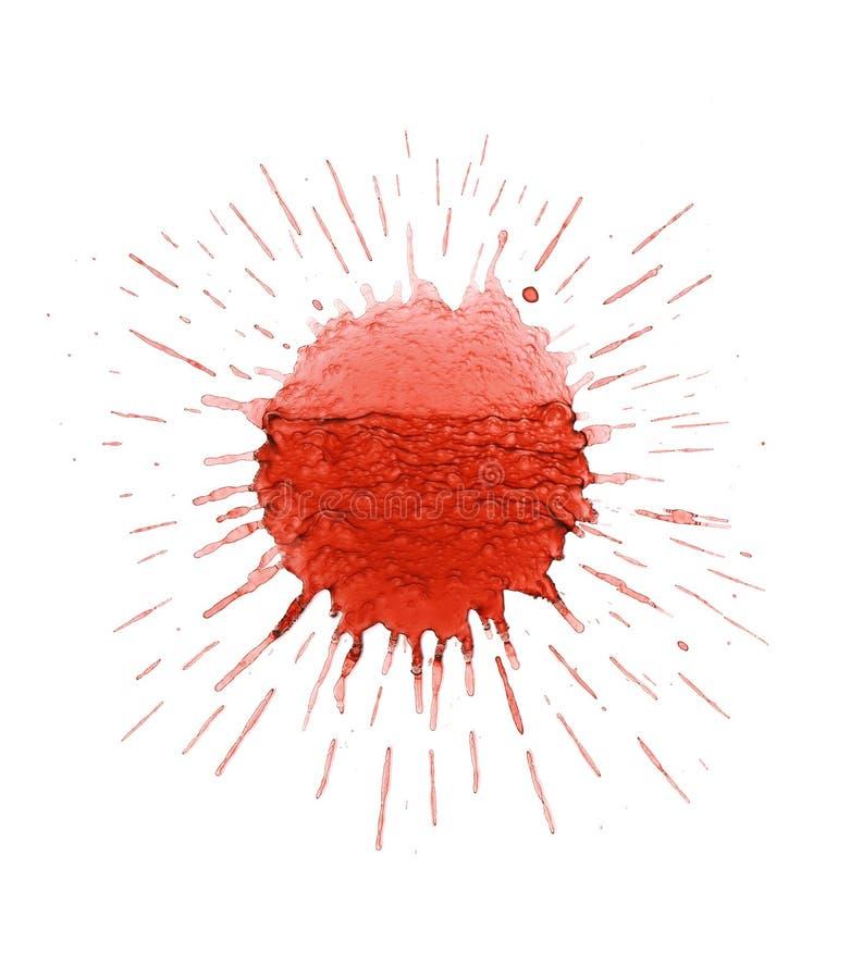 Download Splatter dell'inchiostro immagine stock. Immagine di fantasia - 3131941